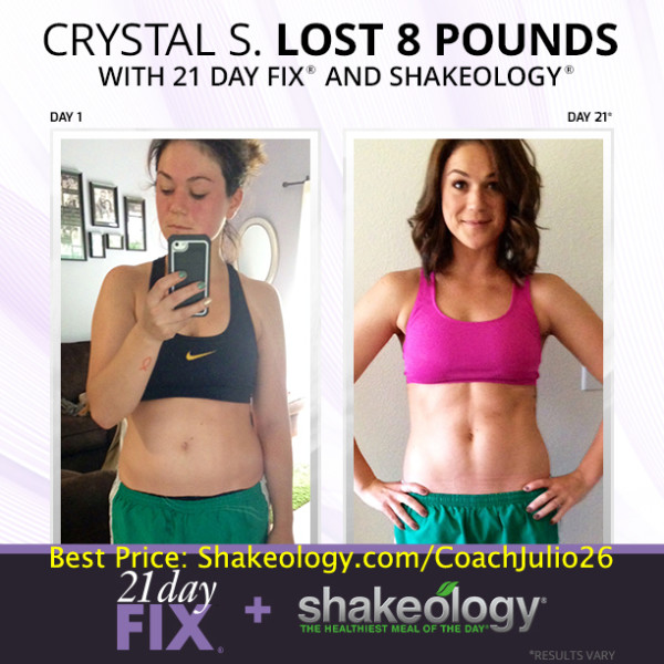 When To Drink Shakeology With  Day Fix