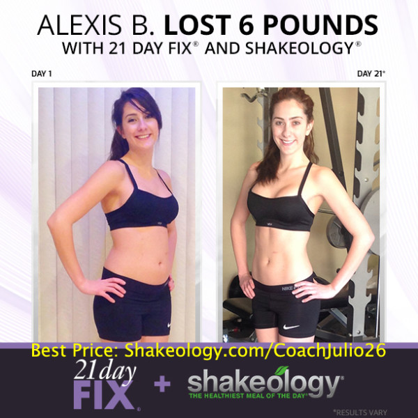 Alexis Tried Every Known Fad Diet Known To Man! She Finally Got Results with 21 Day Fix & Shakeology