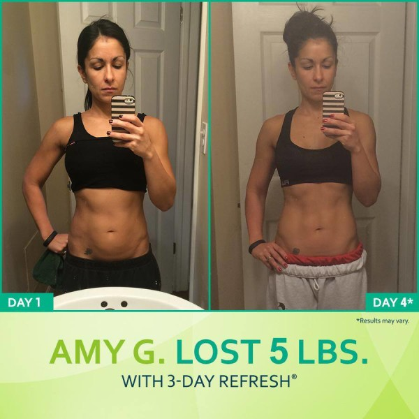 The 3 Day Refresh Was EXACTLY What Amy Needed!