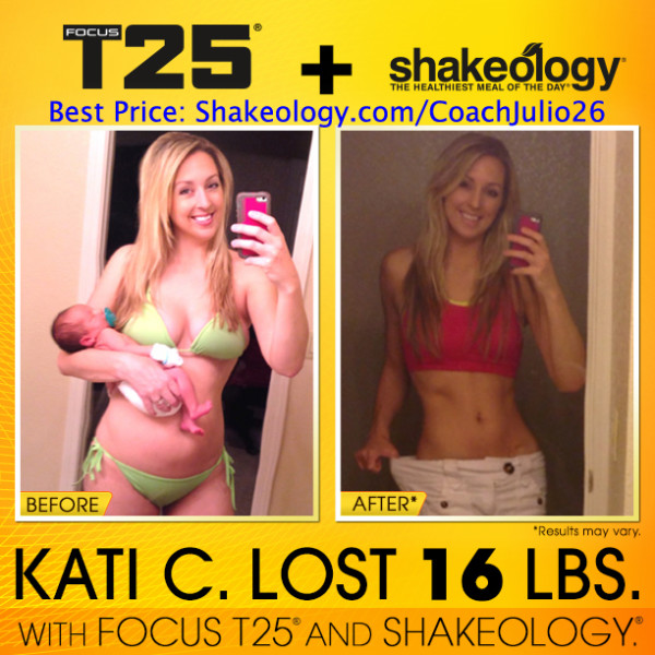 T25 + Shakeology Cured Kati's Depression!
