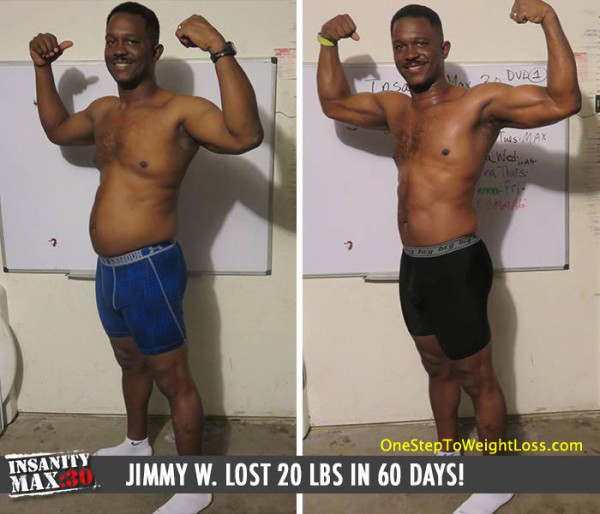 Jimmy Could See A Difference In 2 Weeks!