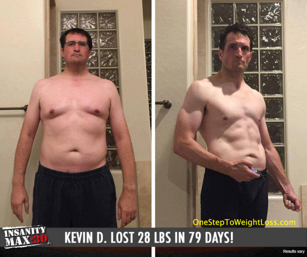 Kevin Started Seeing Results In A Few Weeks!