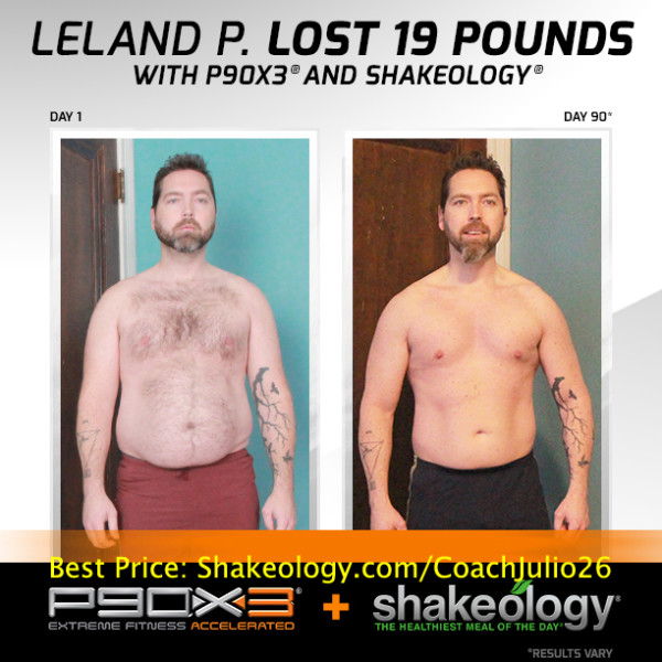 Leland's Friends Assume He's Been Living in the Gym!... Nope! It's P90X3 & Shakeology!