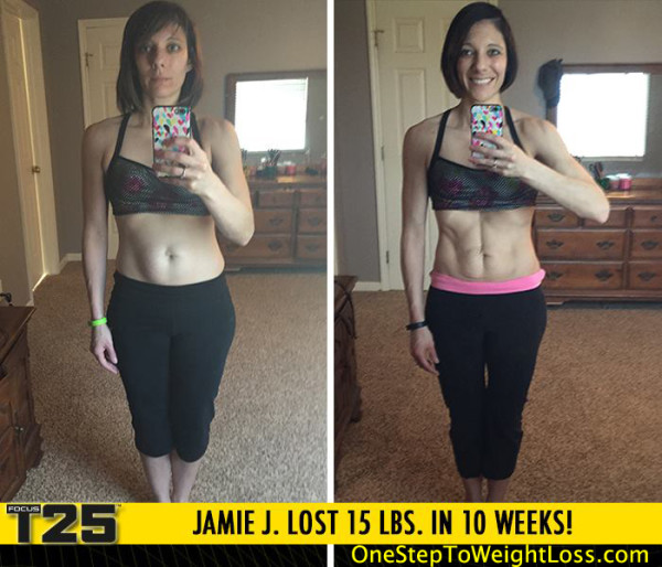 Jamie Never Thought She Would See Her Abs Again!