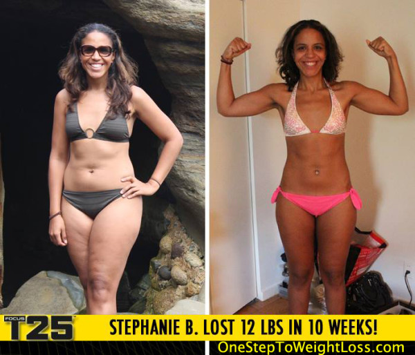 Stephanie Is Now More Powerful Because of Focus T25!