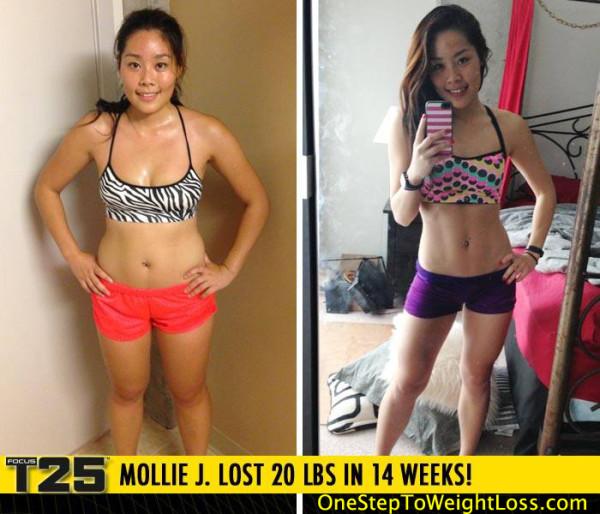 Mollie Feels Amazing & Confident!