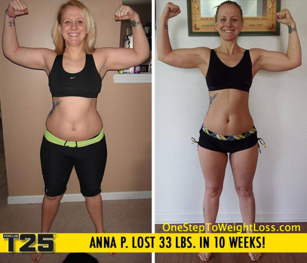 Anna Lost 33 LBS in 10 Weeks!