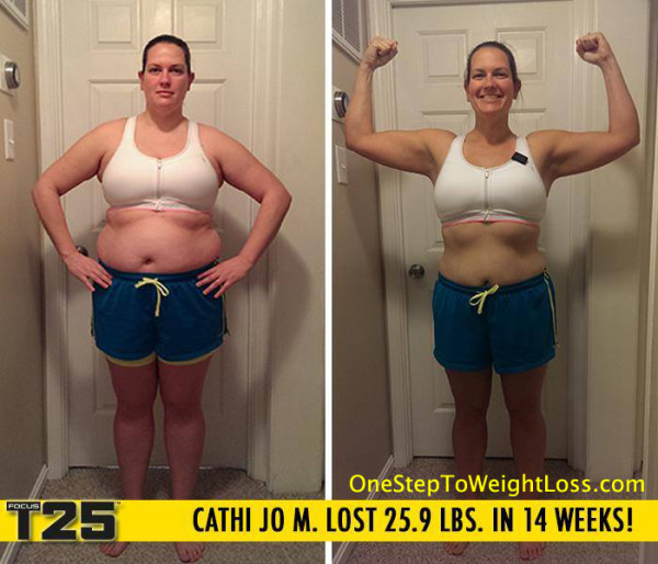 Cathi Had Some Amazing Focus T25 Results!