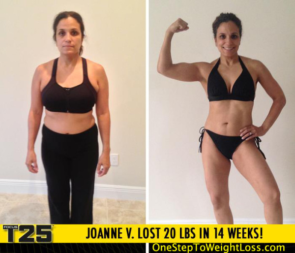 Joanne Changed Her Life Around with Focus T25