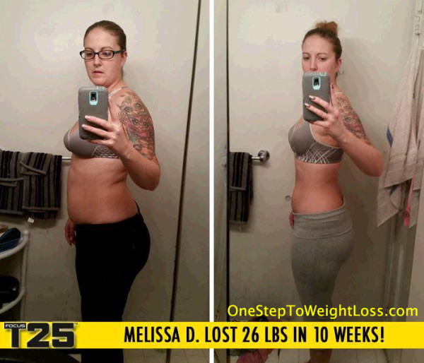 Melissa Lost 26 LBS in 10 Weeks!