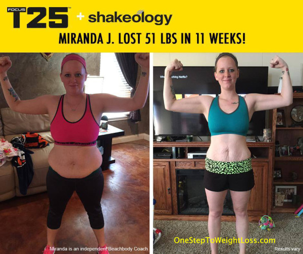 Miranda Finally Got Results with Focus T25!